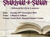 Ladies Fiqh Seminar 291115