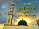 Milad un Nabi Programme