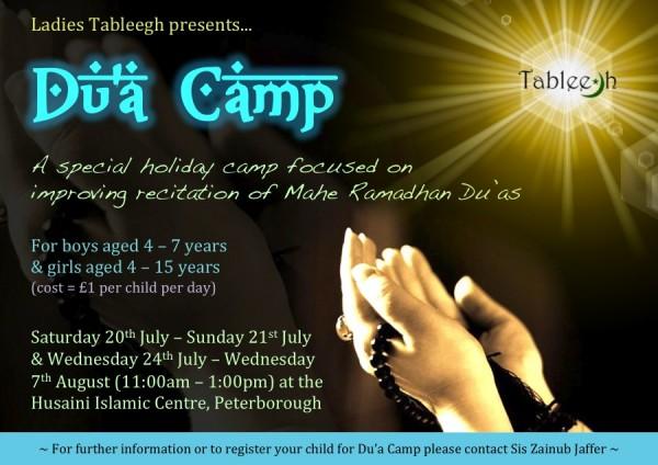 Tableegh Dua Camp